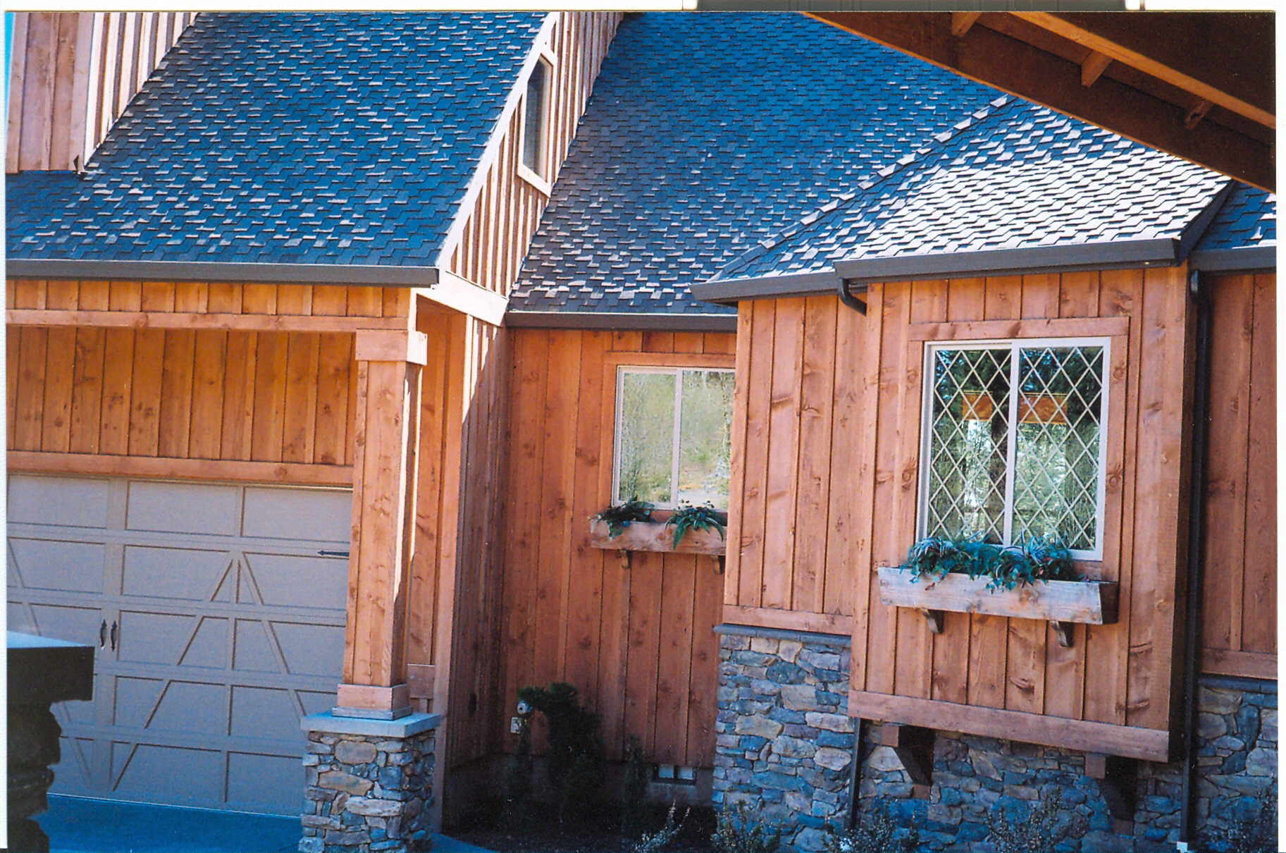 Click For Larger Image Of This Board And Batten Siding Project
