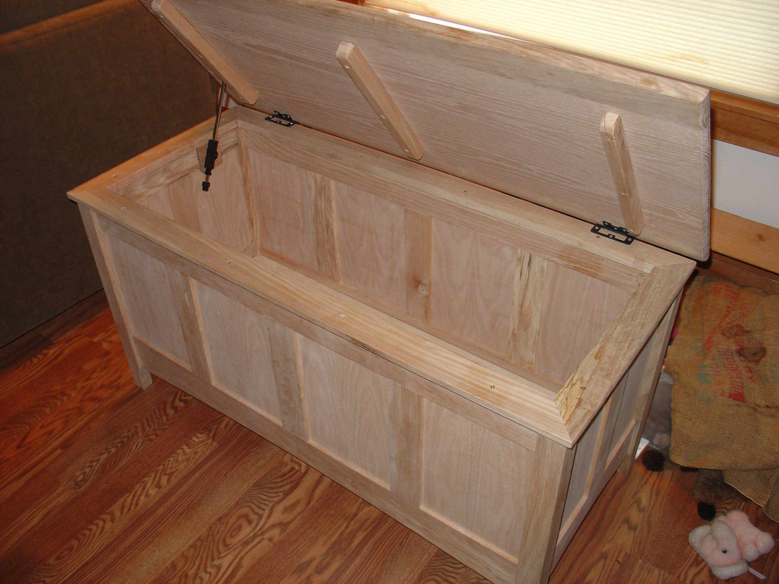 Maple Chest Crafted By Brian From Longview